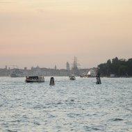 Vista di Venezia dal Lido