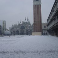 Neve a Venezia
