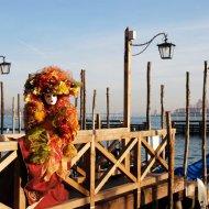 Maschera veneziana a Carnevale
