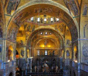 Basilica San Marco interno rid