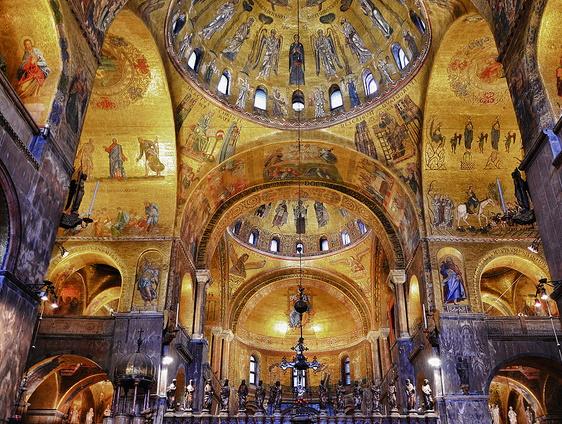 Basilica San Marco interno