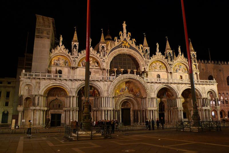 Basilica di San Marco venezia notte