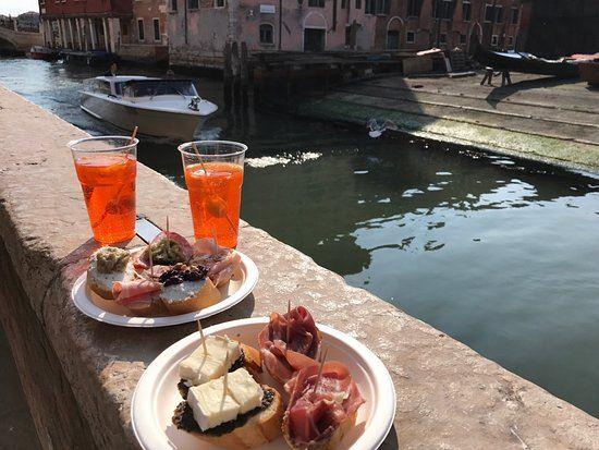 Street food veneziano