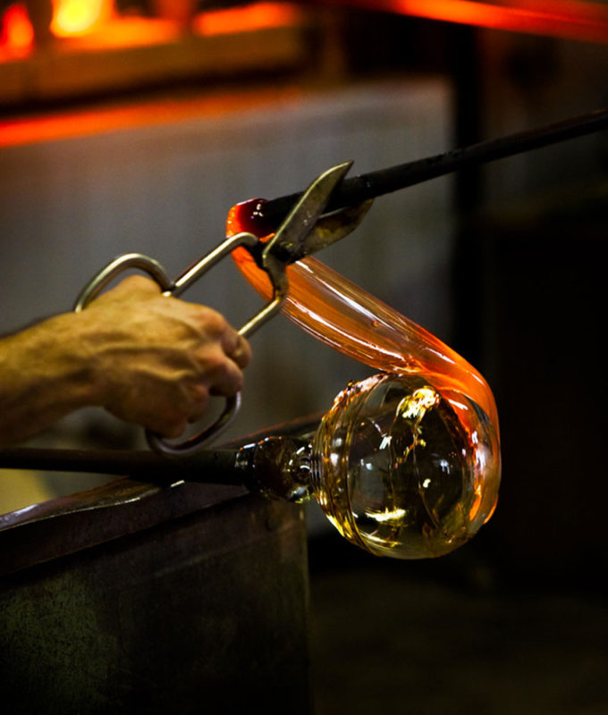 Lavorazione del vetro venezia