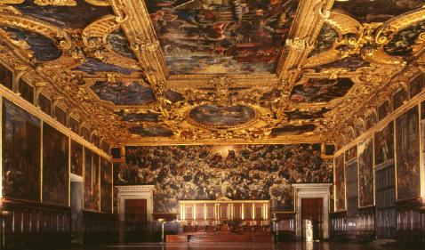 Palazzo Ducale dipinti venezia