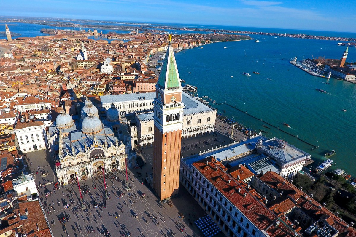 Panoramica Piazza San Marco