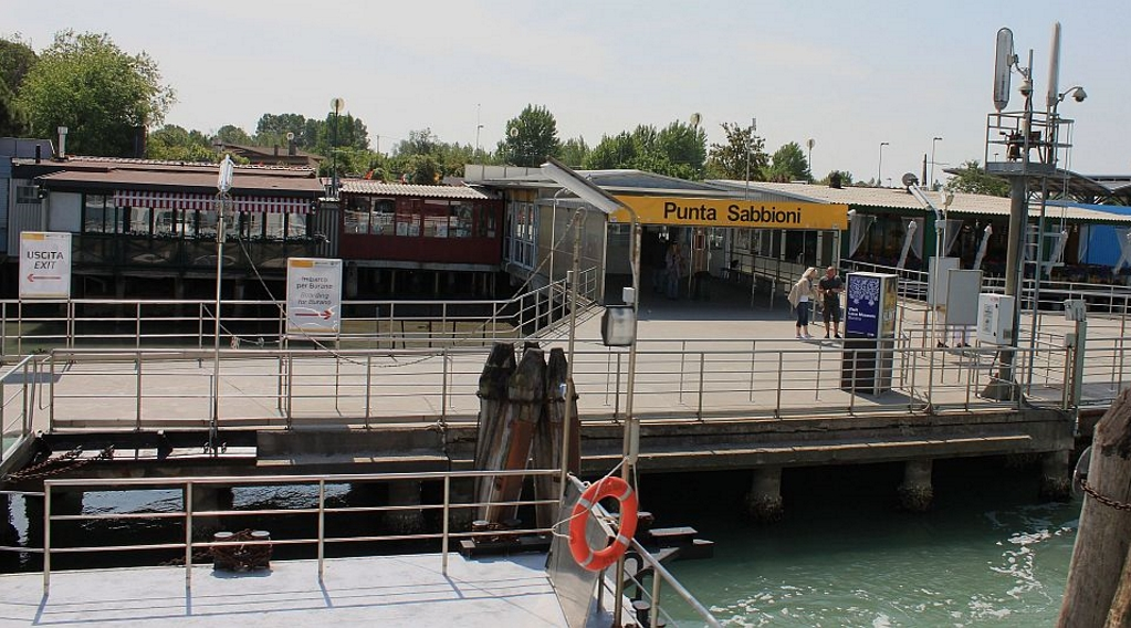 punta sabbioni collegamento traghetto venezia
