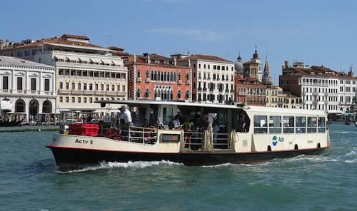Trasporti a Venezia: il vaporetto