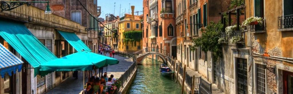 Scorcio veneziano primaverile