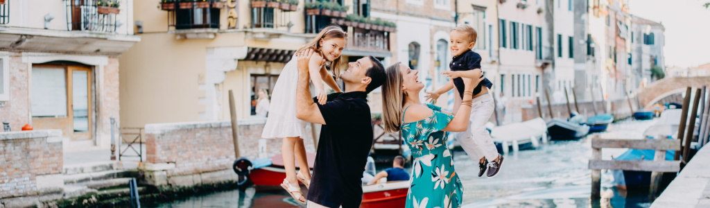 Venezia con la famiglia