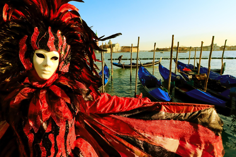 maschera del carnevale veneziano