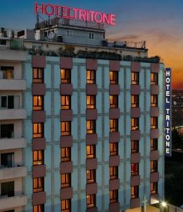 Vista dell'Hotel Tritone a Mestre