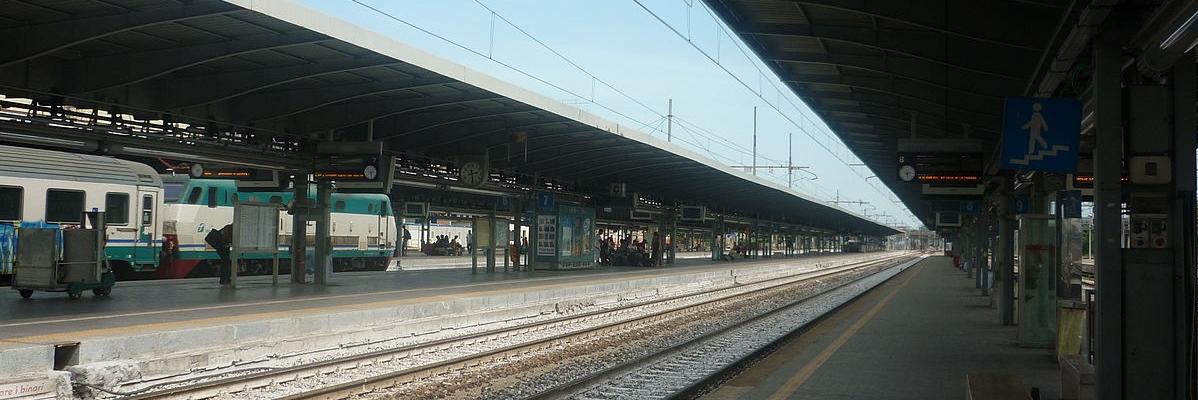 Binari della stazione di Mestre