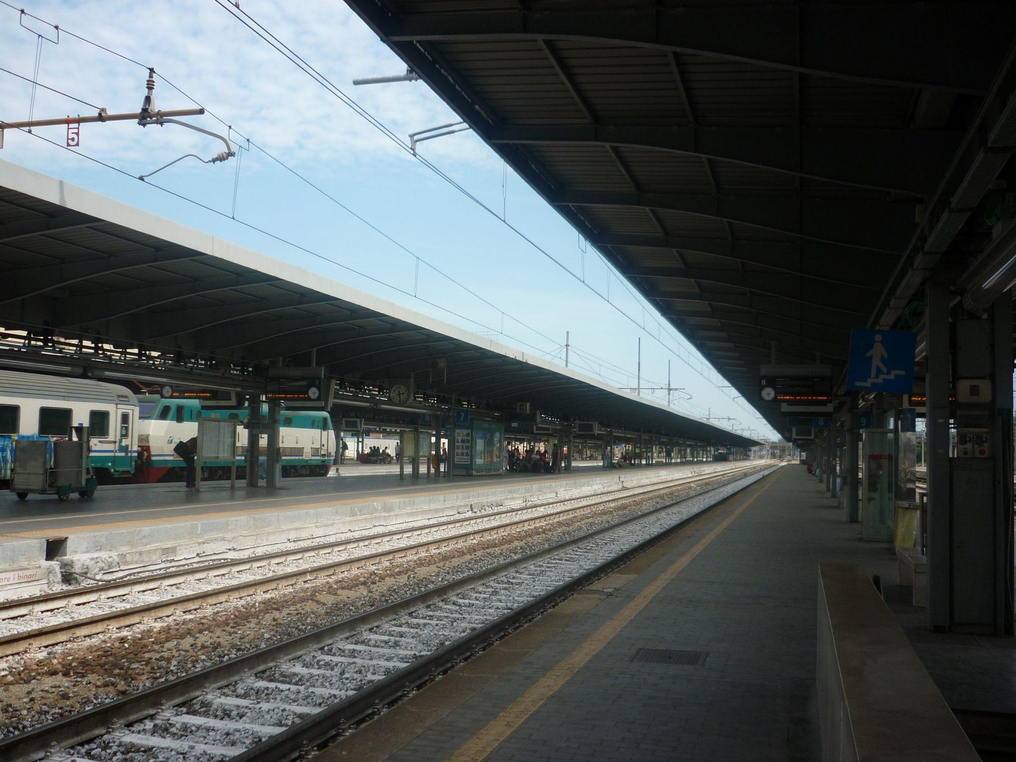 Stazione dei treni di Mestre