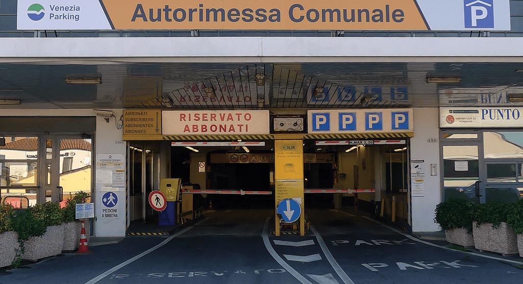 autorimessa comunale parcheggi a venezia