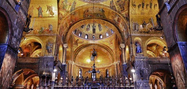 basilica san marco interni mod 735