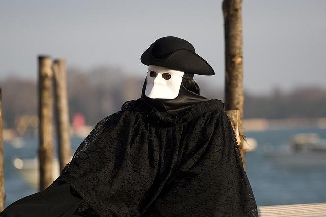 maschera di carnevale bauta
