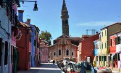 Il campanile di Burano