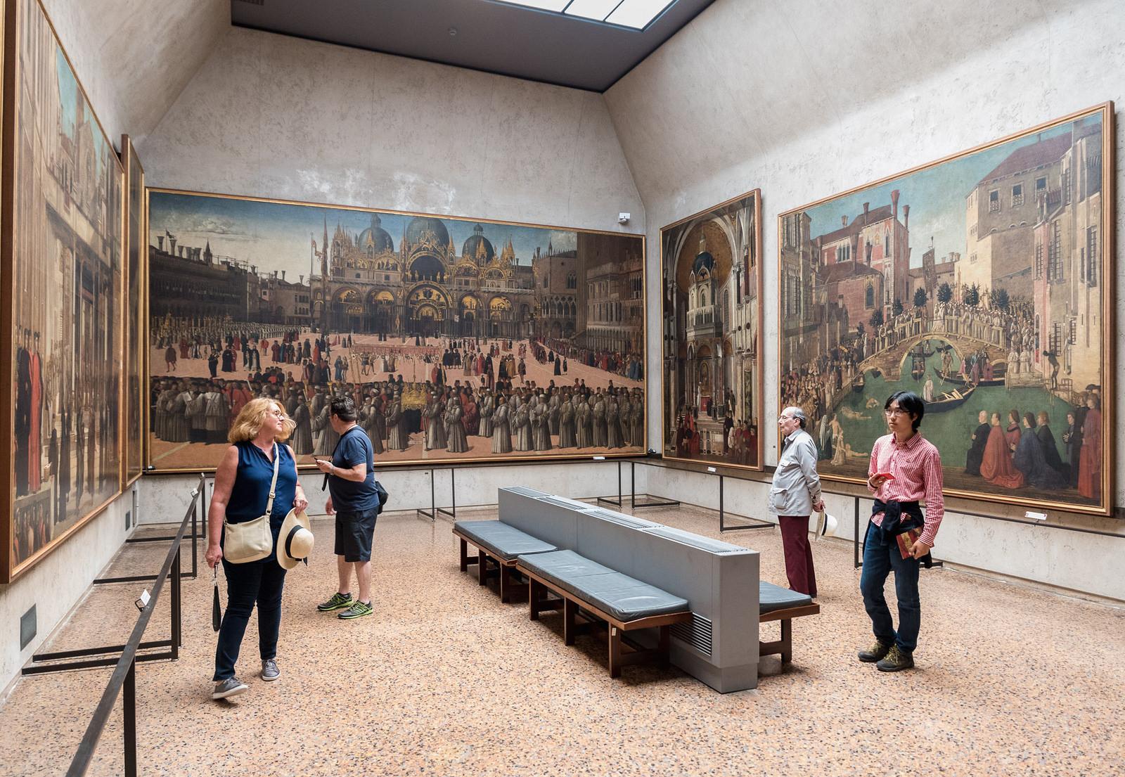 Interni delle Gallerie dell'Accademia