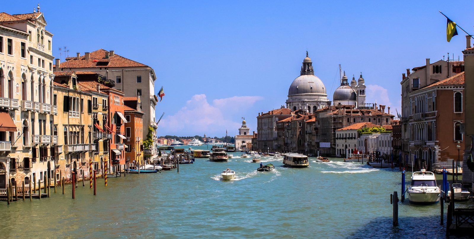 Cosa visitare a Venezia vista dal Ponte dell'Accademia