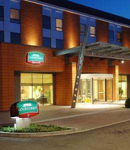 Ingresso dell'Hotel Courtyard
