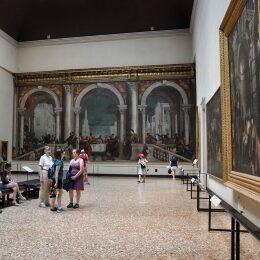 Interno delle Gallerie dell'Accademia