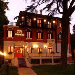 Lido di Venezia vista dell'hotel Villa Cipro