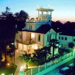 Lido di Venezia vista dell'hotel Villa Delle Palme