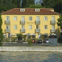 Lido di Venezia vista dell'hotel Viktoria Palace Hotel