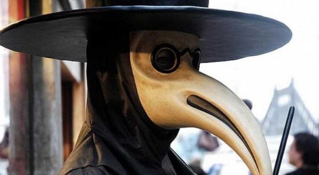 medico della peste carnevale maschera