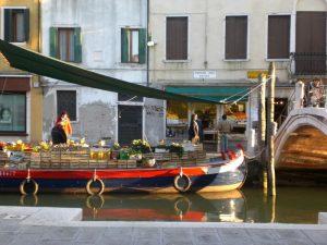 Street food al mercato di Venezia