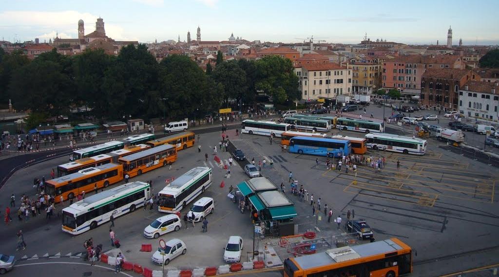 piazzale roma venezia parcheggi
