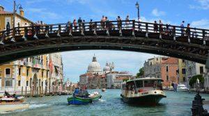 ponte accademia venezia in un giorno