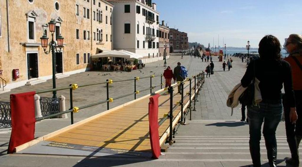 rampe venezia per disabili