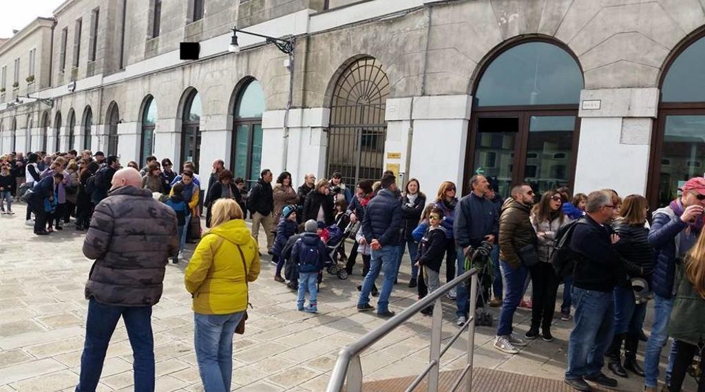 salta la fila a venezia
