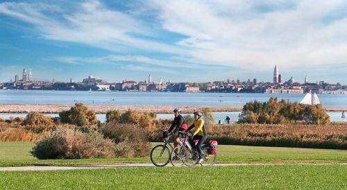 Giro in bici in terra veneziana