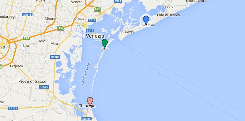 spiagge dintorni venezia