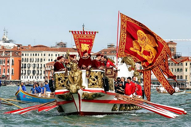 Celebrazione dello Sposalizio del Mare a Venezia