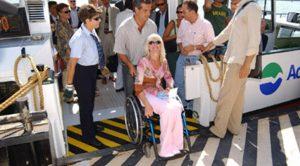 vaporetti a venezia per disabili