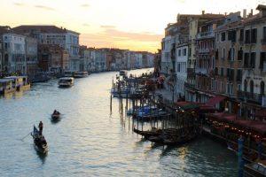 sunset venezia luglio