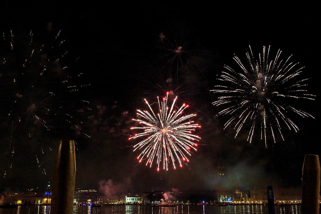 Fuochi d'artificio a Venezia