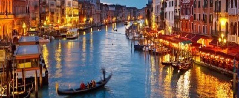 Venezia a dicembre panorama laguna