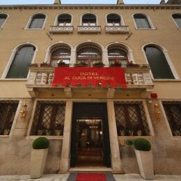 Venezia a Dicembre vista dell'hotel Duca di Venezia