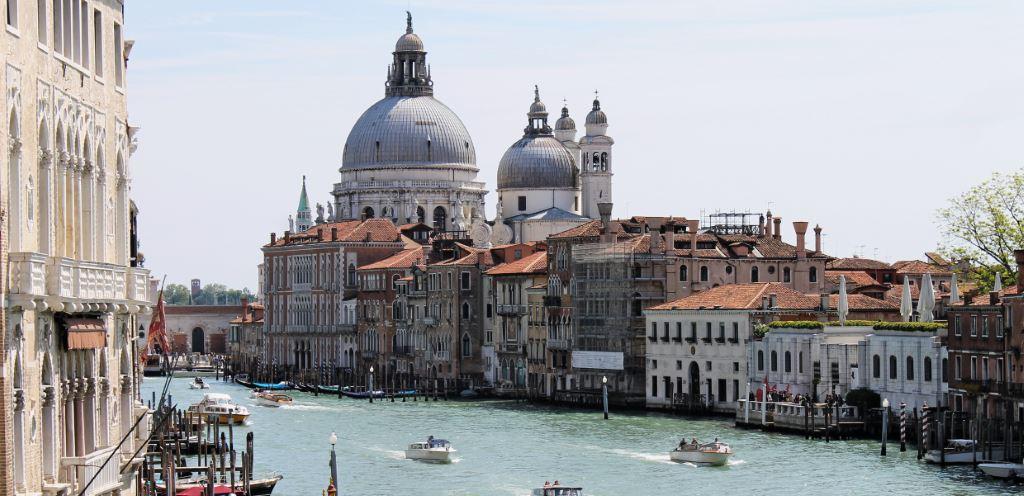 Venezia a luglio panorama di Venezia
