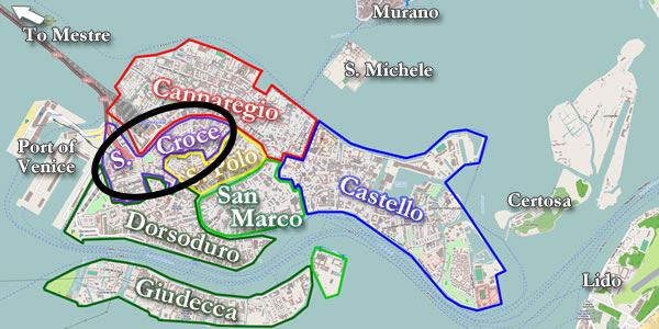 mappa santa croce