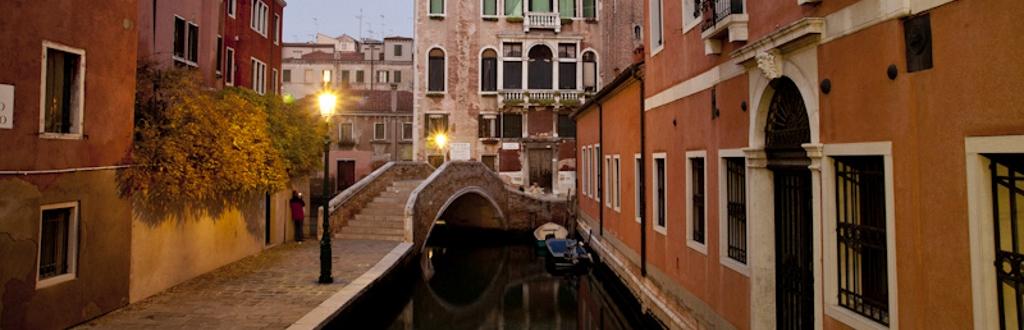 Venezia a novembre copertina
