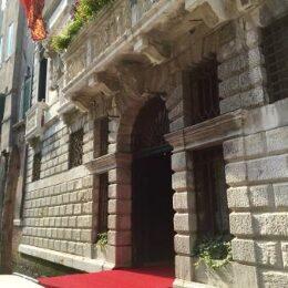 Venezia ad ottobre vista dell'hotel Ai Cavalieri di Venezia