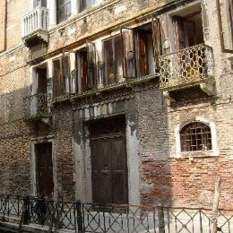 Venezia ad ottobre vista dell'hotel Zaguri